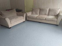 Super comfy couch and love seat in Wilmington, North Carolina