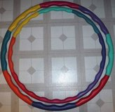 (2) Weighted Sports / Fitness Wavy Hula Hoops in Joliet, Illinois
