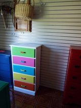 Dresser*Colorfull*5 drawers*Like New in Rolla, Missouri