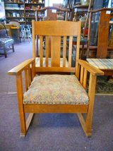 Lovely Mission Rocking Chair in Elgin, Illinois
