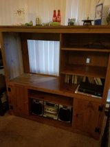 Entertainment center and end table. in Olympia, Washington