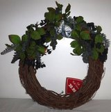 New! Wreath - Hand Crafted Grapevine - Fall Wall/ Door Decor in Orland Park, Illinois
