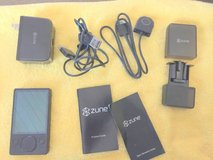 ZUNE 120 GB Video MP3 Player with case and Accessories in Byron, Georgia