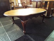 Coffee Table*All Wood*Claw Legs*Vintage*Ex Cond in Fort Leonard Wood, Missouri