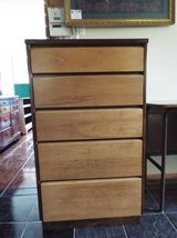 Chest of Drawers*5 Drawers*Tall*All Wood*Vintage*Dovetail in Fort Leonard Wood, Missouri