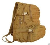 marine corps coyote tan molle system multi-pocketed usmc ruck strap backpack  00471 in Fort Carson, Colorado