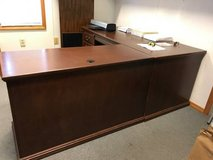Secretarial Desk, solid cherry, right return in Byron, Georgia