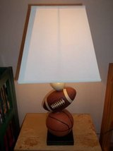 NEW IN BOX Signature Design by Ashley Sports Lamp- BASEBALL FOOTBALL in Fort Lewis, Washington