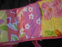 Pottery Barn Kids PINK Spring *Painted Posies* Bumper in Fort Lewis, Washington
