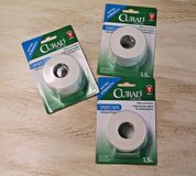 Curad Sports Extra Strength Tape, 1.5 Inches x 10 Yards - NEW - 3 Rolls in Oswego, Illinois