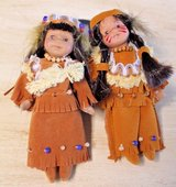 """Little Queen Collection Indian Boy & Girl 5"""" Dolls in Box in Naperville, Illinois"""