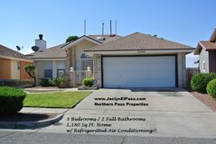 3 Bed/2 Bath Eastside Home For Sale w/ Refrigerate in El Paso, Texas