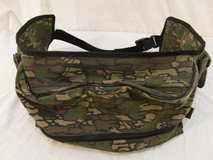 conceal trebark woodland camo pattern multi-pocketed zipper closed waist band  00423 in Huntington Beach, California
