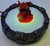 Skylanders Giants PORTAL OF POWER Box PS3 PS4 Wii Wii-U swap force in Joliet, Illinois
