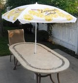 New! 6' Patio / Beach Umbrella in Joliet, Illinois