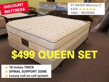 #1 RATED MATTRESS on GOOGLE 50 to 75% OFF! LIMITED AMOUNT. in Chicago, Illinois