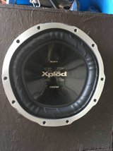 "Sony XPLOD 1200 Watts 12"" Subwoofer w/ free enclosure in Fort Rucker, Alabama"