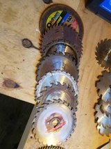 Variety of Misc Saw Blades in Cherry Point, North Carolina