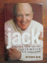 FREE Jack Straight From the Gut by Jack Welch 2001 1st Edition Hard Cover Book w Dust Jacket in Chicago, Illinois