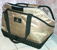 PET CARRIER TRAVEL BAG Purse EDDIE BAUER Smaller Dog Cat Tan in Wheaton, Illinois