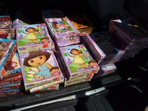A bunch of children's puzzles in small boxes - in huge box in Sacramento, California