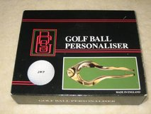 Golf Ball Personalizer - NEW IN BOX in Wheaton, Illinois