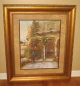 "ART - Large Framed Tuscany Scene Print - 37"" W x 43 1/2"" H in Wheaton, Illinois"