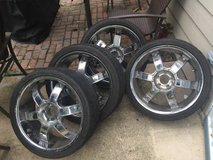 """20"""" Dodge Charger Wheel and tire in The Woodlands, Texas"""