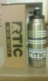Rtic 36oz Bottle w/ Flag & Police Blue Line in Byron, Georgia