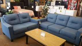 FORSAN NUVELLA BLUE SOFA/LOVESEAT in Schofield Barracks, Hawaii