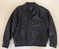 LEATHER BOMBER STYLE JACKET - MEN'S MEDIUM in Schaumburg, Illinois