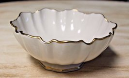 LENOX Small Bowl w/24 kt Gold Scalloped Edges - Nuts, Candy in Naperville, Illinois