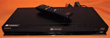 SONY BLU-RAY DISC DVD PLAYER WITH REMOTE BDP-BX57 HDMI 3D READY GREAT in Fort Lewis, Washington