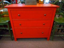 Striking Red Chest of Drawers Dresser in Aurora, Illinois