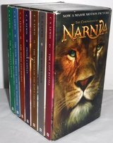 THE CHRONICLES OF NARNIA, C. S LEWIS BOXED SET Book 1-7 in New Lenox, Illinois