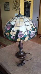 Table Lamp - Tiffany stained glass with Stiffel base in Morris, Illinois