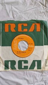 """Elvis Presley Clean Up Your Own Back Yard UK 45 7"""" single +The Fair Is in Yucca Valley, California"""