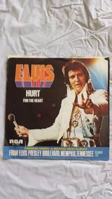 ELVIS PRESLEY Pic Sleeve HURT 1976 45 rpm FOR THE HEART in Yucca Valley, California
