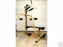Vintage Nordic Flex Gold Strength Conditioning Workout Machine in Joliet, Illinois