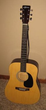 ARIANA WGA6P-20x 6-String Acoustic Guitar with Soft Carrying Case in Naperville, Illinois