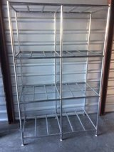 Chrome shelving racks in Travis AFB, California