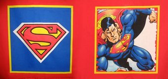 Superman Fabric Panel For Pillow in Fort Campbell, Kentucky