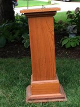Antique Mission Style Plant Stand in Naperville, Illinois