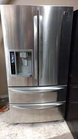 LG stainless steel refrigerator in Beaufort, South Carolina