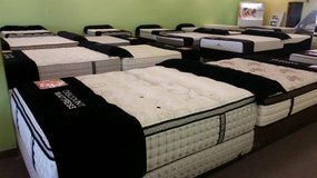 OVERSTOCK BLOWOUT! Brand New MATTRESS SETS 75% OFF! FREE DELIVERY!! in St. Charles, Illinois
