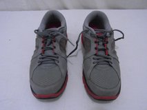 mens nike dual fusion run red gray lace up 10.5 athletic training shoes  00663 in Huntington Beach, California