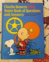 RARE Vintage 1981 Charlie Brown's 5th Super Book of Questions & Answers Hard Cover in Morris, Illinois