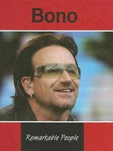 Bono (Remarkable People) U2 Hard Cover Book in Shorewood, Illinois