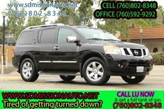 2013 Nissan Armada SL Ask for Louis (760) 802-8348 in Camp Pendleton, California