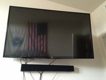 """49"""" LG Smart TV, wall mount, and sound bar in San Clemente, California"""